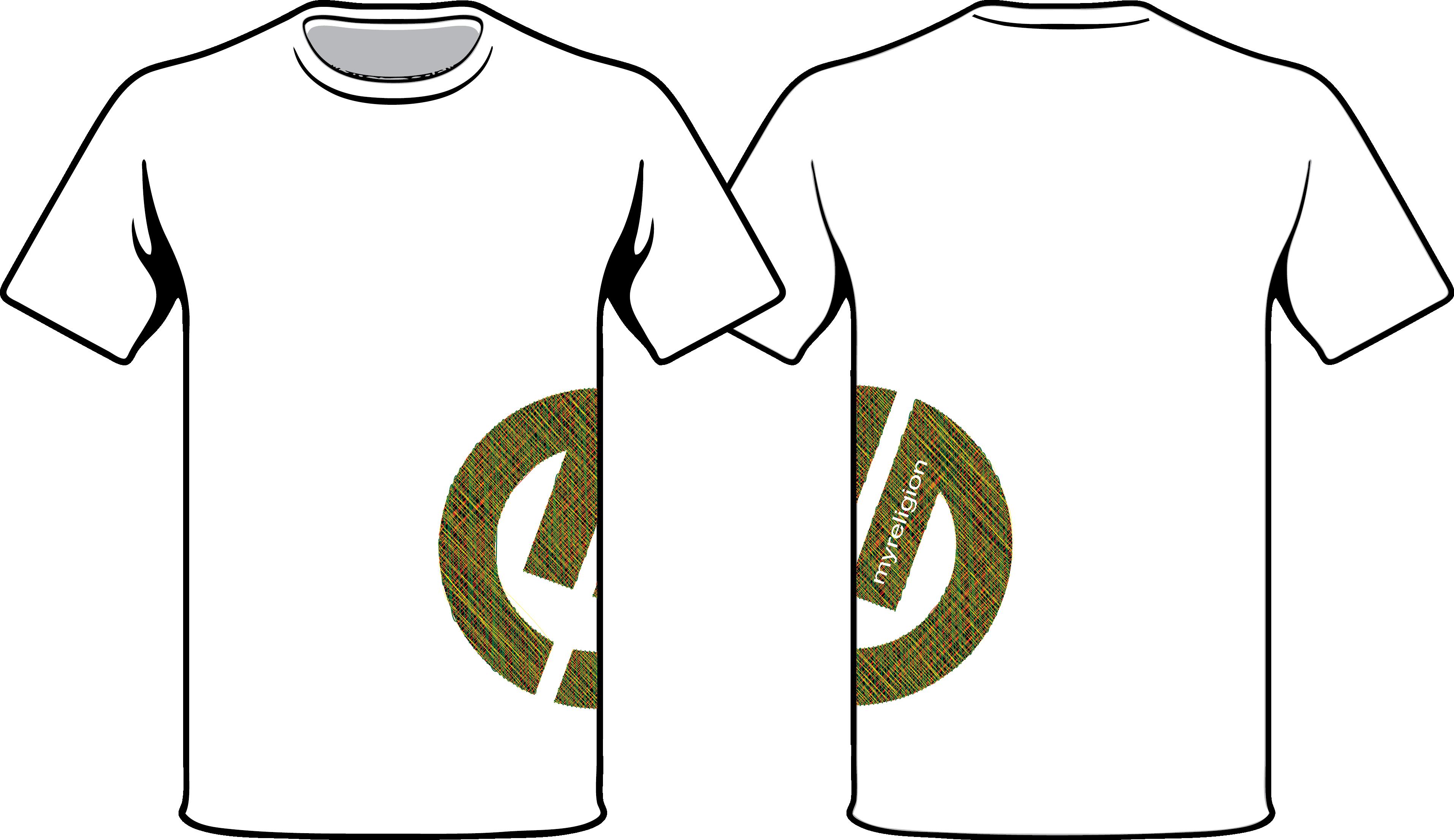 logo tee side