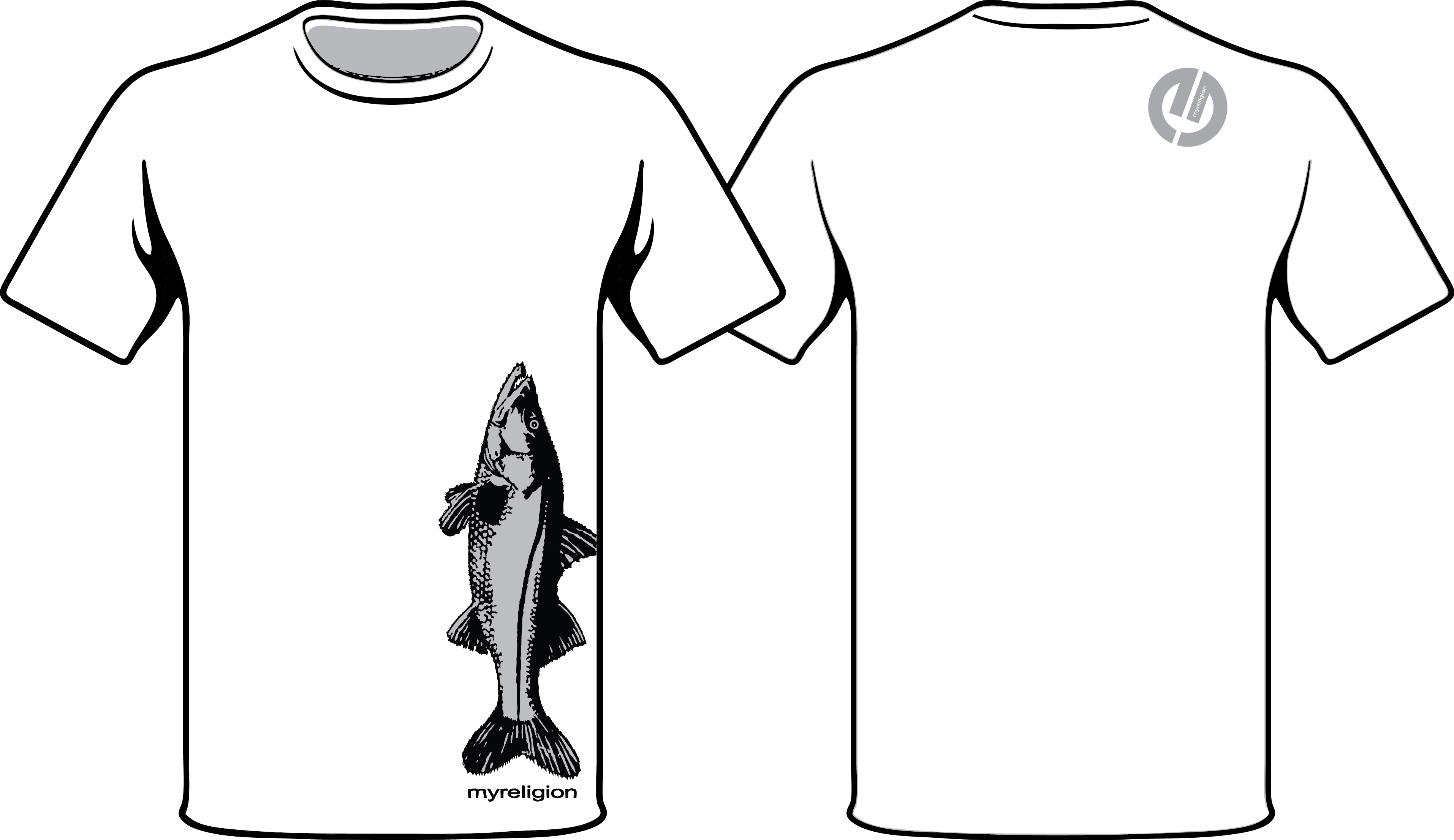 snook grey t